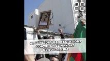 Algérie: Des centaines de manifestants contre un 5e mandat de Bouteflika