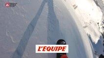Le run gagnant de Marion Haerty en caméra embarquée à Fieberbrunn - Adrénaline - Snowboard freeride
