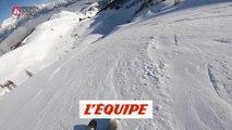 Le run spectaculaire d'Hedvig Wessel en caméra embarquée - Adrénaline - Ski freeride