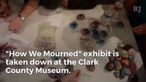 """1 October exhibit, """"How We Mourned"""", is taken down from the Clark County Museum"""