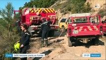 Incendies en Corse : 1 650 hectares partis en fumée