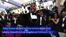 Billy Porter's Outfit Rocks theRed Carpet at 2019 Oscars
