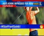 Rio 2016 Olympics:18-year-old golfer Ashok Aditi surprises on day 2