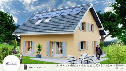 A vendre - Maison - Morges (1110) - 5.5 pièces - 200m²