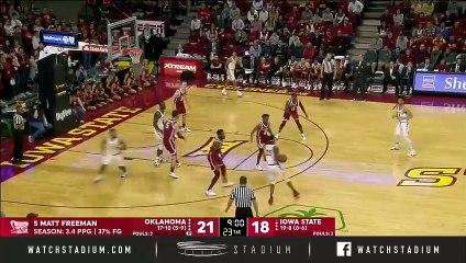 Oklahoma vs. Iowa State Basketball Highlights (2018-19)