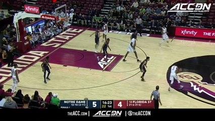 Notre Dame vs. Florida State Basketball Highlights (2018-19)