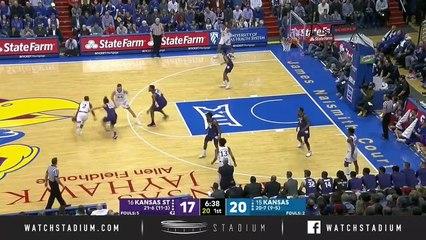 No. 16 Kansas State vs. No. 15 Kansas Basketball Highlights (2018-19)