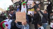 Algérie : manifestation à Paris contre un 5e mandat de Bouteflika