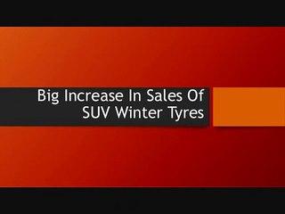 Big Increase In Sales Of SUV Winter Tyres
