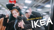 FUN IN KOREAN IKEA  Home Decor Shopping + Being Silly w. Friends | Sissel AB
