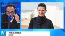 """Juliette Binoche sur le climat : """"La démission de Nicolas Hulot a été un détonateur"""""""