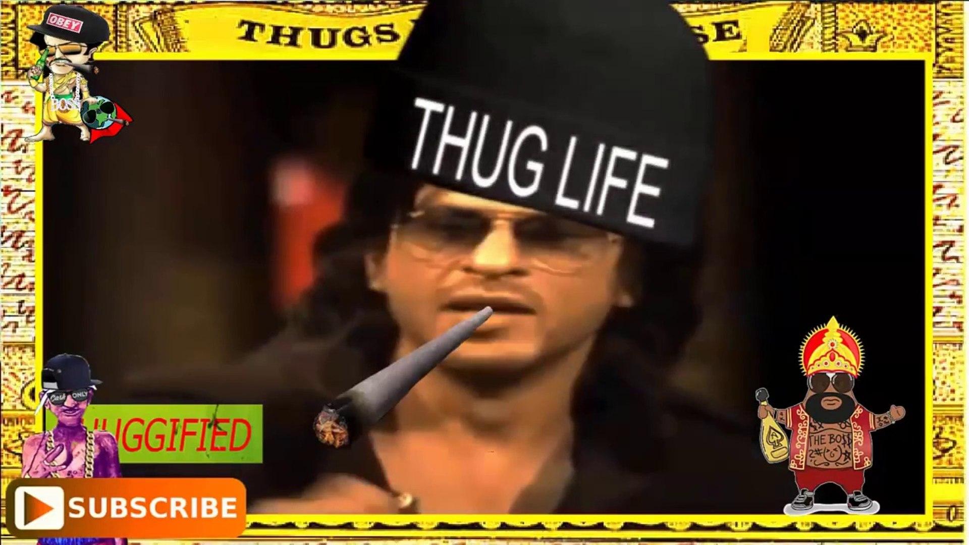 Ultimate Shahrukh Khan Thug Life SRK Life Desi Thug Life