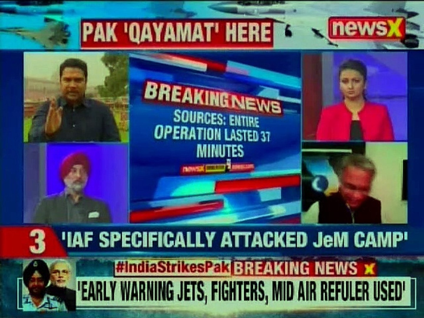 Indian Air Force Strike on Pakistan LIVE: India on High Alert as Pakistan hint towards retaliation