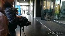 Armelle et la RTBF en tournage à Comines-Warneton