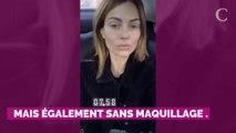 """PHOTOS. Caroline Receveur se prend en selfie sans maquillage ni filtre """"pour une fois"""""""