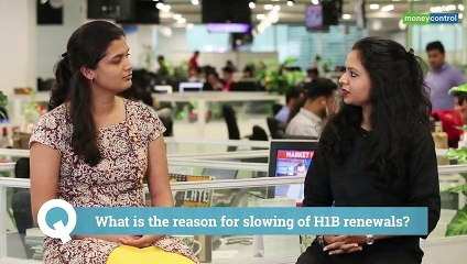 Not just new applications, H-1B visa renewals also feel the heat now