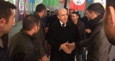AK Parti Belediye Başkan Adayı Ertuğrul Eryılmaz, HDP Seçim Bürosunu Ziyaret Etti