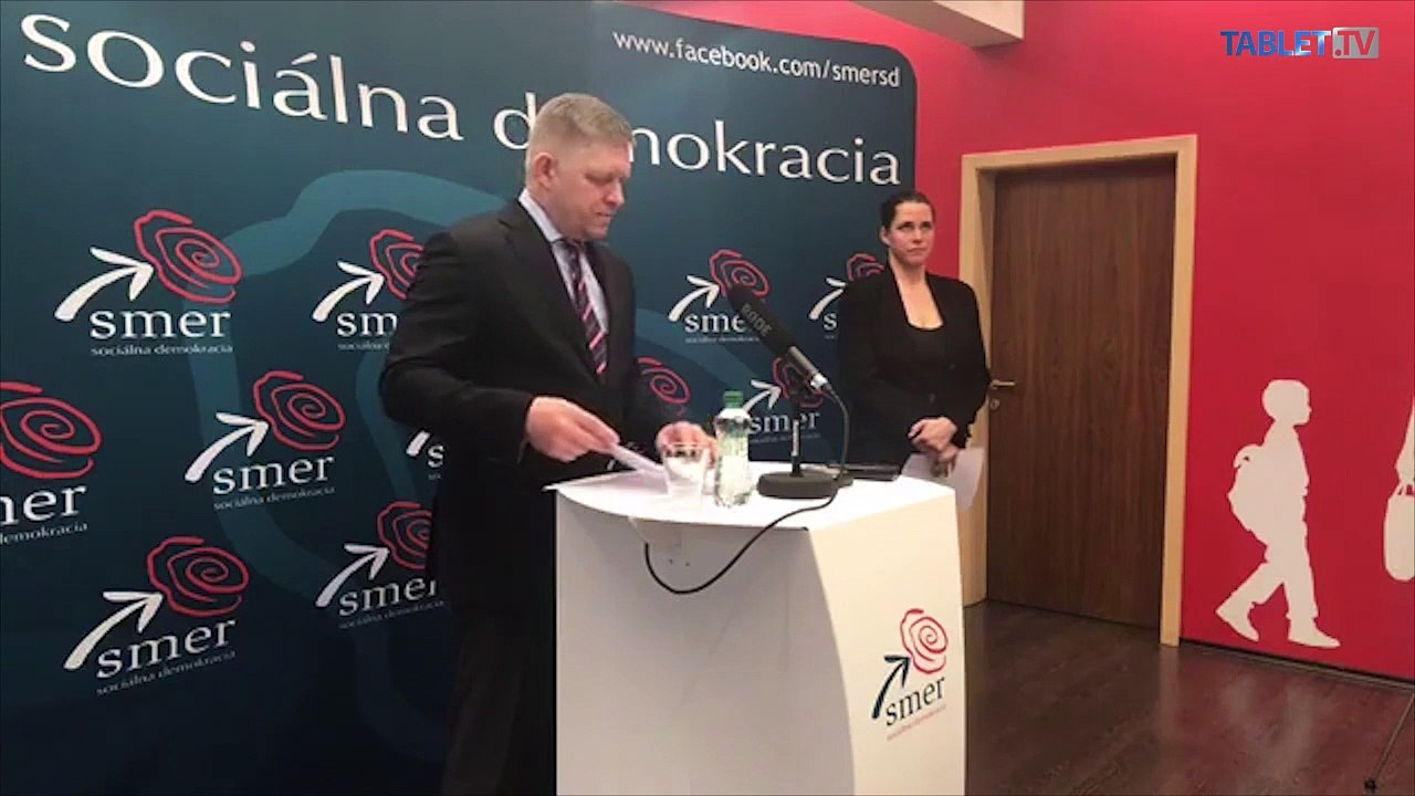 ZÁZNAM: Tlačové vyhlásenie predsedu strany Smer – SD Roberta Fica