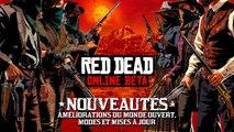 Red Dead Online - Mise à jour de la bêta