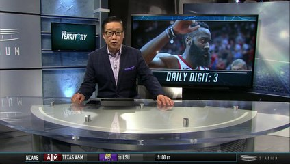 Shams Charania Discusses James Harden's 30-Point Streak Being Snapped