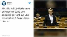 Michèle Alliot-Marie mise en examen dans une enquête sur des associations à Saint-Jean-de-Luz
