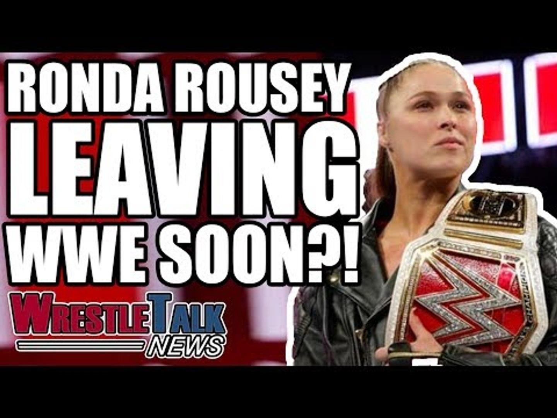Ronda Rousey LEAVING WWE Rumours And Updates!   WrestleTalk News Jan. 2019