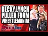 Becky Lynch PULLED From WrestleMania 35! WWE Raw, Feb. 11, 2019 Review   WrestleTalk