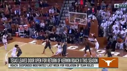 Jeff Goodman on the Possibility of Texas' Kerwin Roach Returning From Suspension
