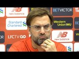 Jurgen Klopp Full Pre-Match Press Conference - Manchester United v Liverpool - Premier League