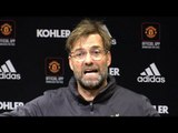 Manchester United 0-0 Liverpool - Jurgen Klopp Full Post Match Press Conference - Premier League