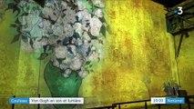 Exposition : Van Gogh en son et lumière à Paris