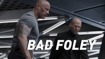 The Hobbs & Shaw trailer still hits hard even when the sound doesn't make sense — Bad Foley