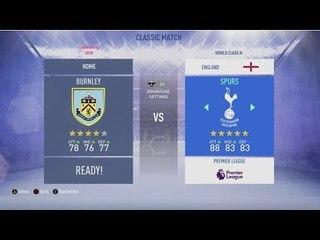 Burnley v Tottenham | Predicted Line Up | FIFA Match Preview