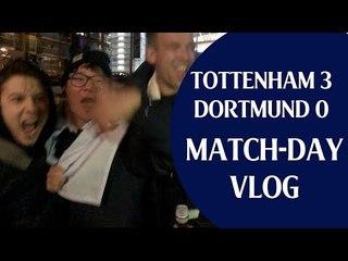 Tottenham 3 Borussia Dortmund 0 | 손흥민 Heung Min Son & Vertonghen On Fire! | Match-day vlog