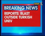 Explosion outside Erciyes University in Turkey kills 13 soldiers, injures 48
