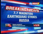 Fear of tsunami after 7.7 magnitude earthquake hits Russia
