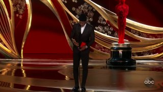 Mahershala Ali Accepts the Oscar for Supporting Actor