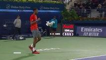 ATP - Dubai 2019 - Gaël Monfils de plus en plus impressionnant !