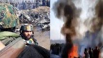 IAF Mi-17 chopper crashes in Jammu & Kashmir | OneIndia News