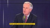 """""""Le 'no deal' est une possibilité, pas une probabilité"""", déclare Michel Barnier, négociateur en chef du Brexit pour l'Union Européenne"""