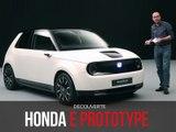 Découverte du Honda e Prototype (2019)