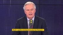 """""""Je pense qu'il faut écouter cette colère, le Brexit c'est souvent une colère sociale contre l'Europe"""", estime Michel Barnier"""