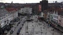 Etterbeek - travaux terminés sur la place Jourdan (vidéo Germani)