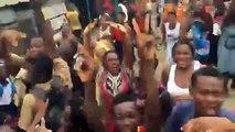 La joie après l'acquittement de Laurent Gbagbo