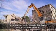 BEZIERS - La Devèze : Robert Ménard fait le point sur les démolitions d'immeubles