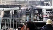 Egypte: au moins 20 morts dans un accident en gare du Caire (2)