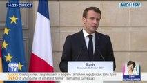 """Air France-KLM: Emmanuel Macron affirme que """"l'intérêt de la société doit être préservé"""""""