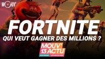 Fortnite lance sa Coupe du monde, avec 3 millions de dollars à la clé