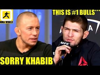 IT'S OFFICIAL!-GSP has retired from the sport of MMA,Felder on his injury,Tony Ferguson,Khabib