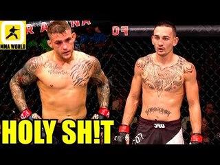 BIG NEWS-Max Holloway vs Dustin Poirier will fight at UFC 236 for Interim 155 belt,Prague W-ins